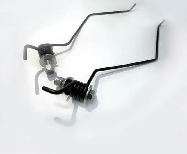 Пружины «Царапки» для смазки склиз