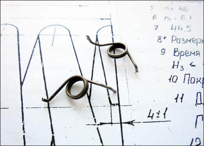пружины для рыболовных катушек Daiwa